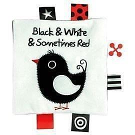 【小不點童樂會】K's Kids Black and White and sometimes Red黑白紅 學習布書