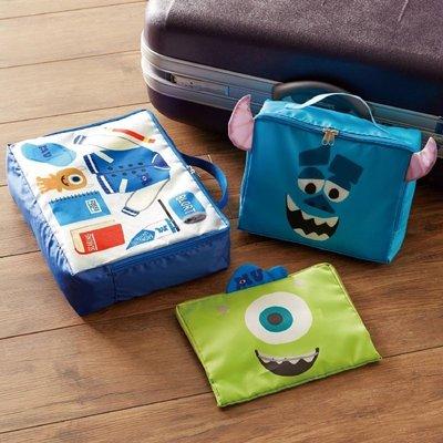 (預購)玩瞎拚#日本空運代購 迪士尼系列人物衣服收納透氣網布收納包