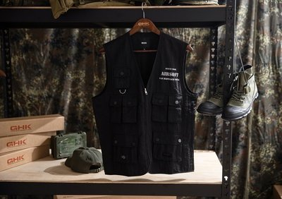 """{LYJ 高雄} GHK """"Abstract Collection"""" Airsoft Vest 戰術背心-軍事 工裝"""