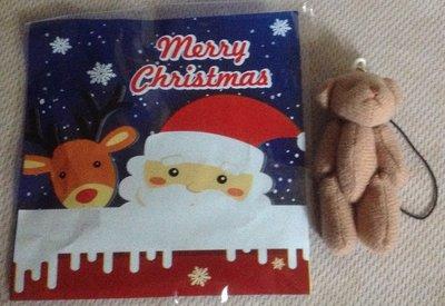 全新聖誕節禮物麋鹿熊吊飾