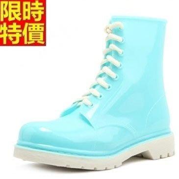 短筒雨靴子 雨具-美式經典時尚繽紛女雨鞋子12色66ak8[獨家進口][米蘭精品]