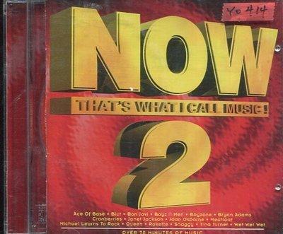 *還有唱片行* NOW / THAT'S WHAT I CALL MUSIC 2 二手 Y0414