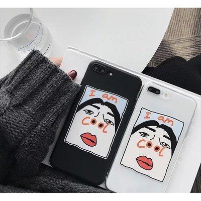 鼻孔女孩 COOL iPhone12 11 7plus/8/8+/xs/xr/max Mermaid手機殼【快速出貨】