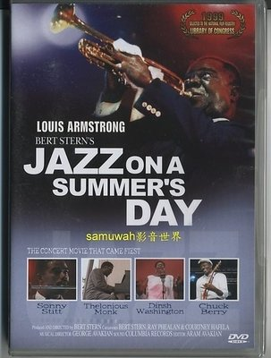 正版全新DVD~群星爵士演奏會Louis Armstrong : Bert Stern's Jazz on a Summer's Day