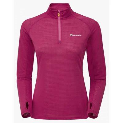 Montane 女款 兩色可選 Allez Micro Pull-On 阿蓮歐姿輕暖抗菌高領套頭半拉鍊中層衣 FAMPO