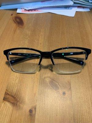 999.9 半框黑色眼鏡 NPN-921