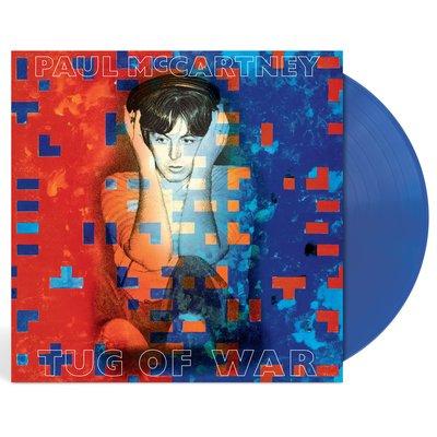 Paul McCartney保羅麥卡尼Tug Of War拔河RSD世界唱片日LP藍膠唱片