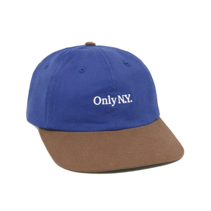 { POISON } ONLY NY LODGE HUNTING POLO HAT 戶外風格 老帽棒球帽 美國製 藍