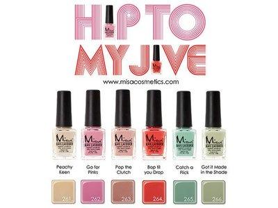 NAILS SHOP 美甲材料批發團購商城 Misa 指甲油用品  Misa系列A-Hip to My Jive 最新商品 2012MS01