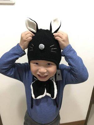 正韓貨 [現貨]保暖童帽圍巾組 抗寒必備 帽子 圍巾各一 適合2-5歲小童配戴