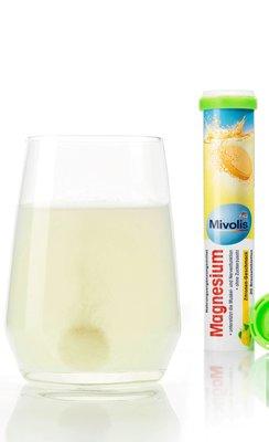 德國現貨【Mivolis】綠蓋發泡錠.鎂 Magnesium (檸檬味)