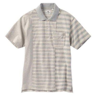 (保留) Uniqlo M號 Engineered garments EG 條紋POLO