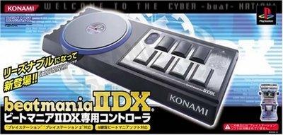 【二手商品】KONAMI Beatmania IIDX 節拍 DJ PS2 專用控制器 RU029-J2【台中恐龍電玩】