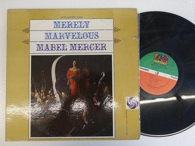 【柯南唱片】mabel mercer merely marvelous>>美版LP