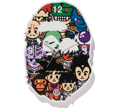 【日貨代購CITY】2017AW BAPE X DRAGON BALL Z WALL CLOCK 七龍珠 掛鐘 現貨
