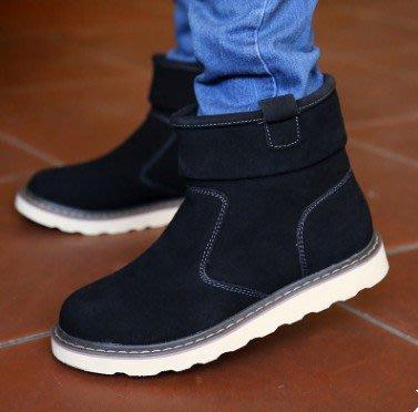 2016冬季新款雪地靴男保暖男靴加絨棉鞋(二層豬皮) NEW ARRIVAL
