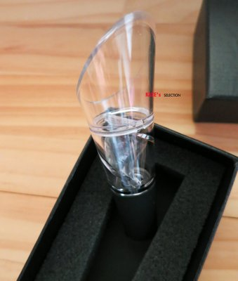新款 美國 wayfair 同步 螺旋 迴旋 醒酒 盒裝倒酒器 增加空氣接觸 交錯 紅酒 白酒 香檳 酒具