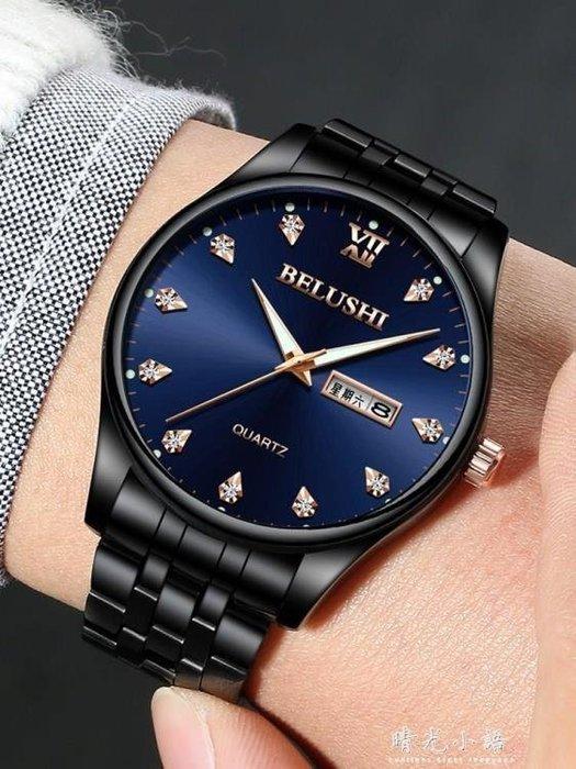 2018新款超薄防水男士手錶石英錶手錶男學生時尚潮流男錶腕錶