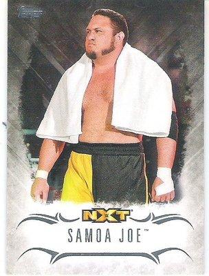2016 TOPPS WWE UNDISPUTED #NXT-26 SAMOA JOE  特殊卡