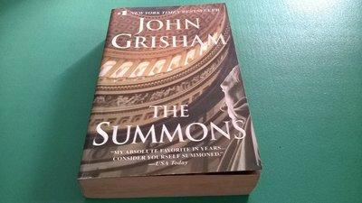 大熊舊書坊-英文原文書 0440241073 - The Summons by John Grisham-5*42