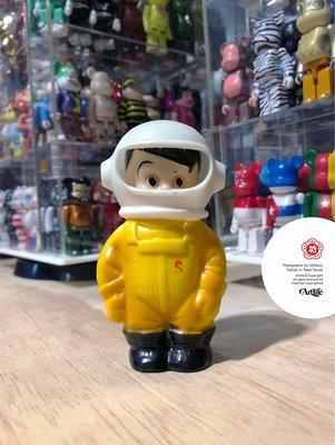 ArtLife @ 信用金庫 しんちゃん 貯金箱 宇宙服 宇宙飛行士 Astronaut 当時物 太空人