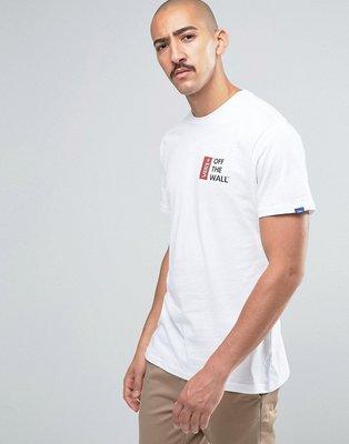 VANS Off The Wall T-Shirt 經典 標語 LOGO T恤 黑 白 灰