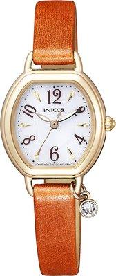 日本正版 CITIZEN 星辰 wicca KP2-523-10 手錶 女錶 太陽能充電 日本代購