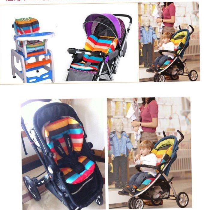 兒童汽車安全座椅加厚推車棉墊仙草媽❤ 型嬰兒童寶寶車傘車棉墊餐椅坐墊子餐椅墊嬰兒手推車坐墊