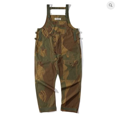 WaShiDa Club Stubborn - British Army Overall 迷彩 連身工作褲