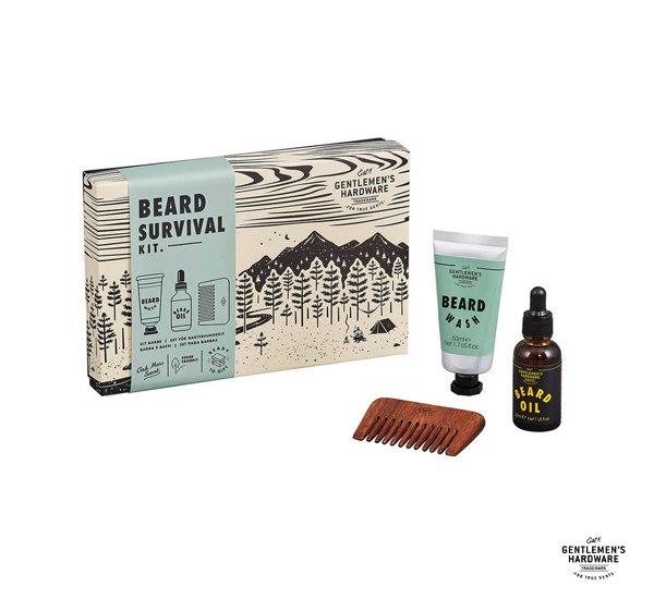 GOODFORIT / 英國Gentlemen's Hardware Beard Buddy Kit鬍鬢保養禮盒