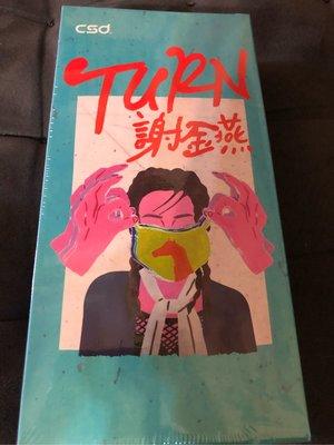 中衛聯名謝金燕Turn口罩 聯名款 演唱會限量版口罩防疫玩色雪花冰雪巴黎台灣製造