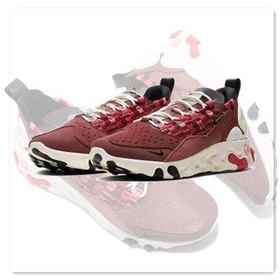 【Dr.Shoes】免運Nike React Sertu 編織 男鞋  慢跑鞋 酒紅 AT5301-200