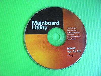 《啄木鳥小舖》<DRIVER~CD>聯強MBD-PA33主機板驅動光碟(MB030 A1.3.0)[適用Win 98]