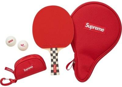 【Hills 台北實體門市】Supreme FW19 Butterfly Table Tennis Racket Set