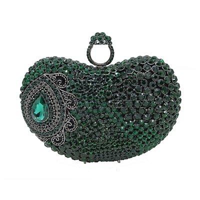 晚宴 包 鑲鑽手拿包-璀璨閃耀時尚精美女包包3色73su35[獨家進口][米蘭精品]