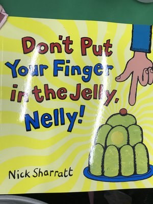 Don't put your finger in the jelly