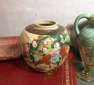 白明月藝術/古物雜貨店  古董手繪瓷器
