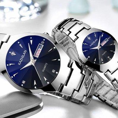 男士手錶  手錶男士學生韓版簡約石英錶時尚潮流休閒情侶夜光機械錶  新品