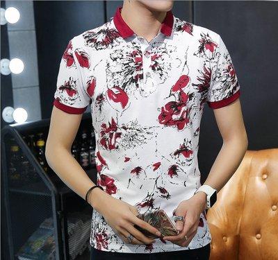 時尚服飾 2019夏季新款男式t恤韓版潮外貿男士短袖T恤大碼男裝打底衫男半袖