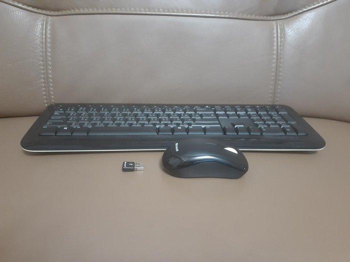 Microsoft  滑鼠 鍵盤 接收器整組