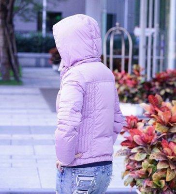 Gucci Down Jacket 羽絨前雙口袋外套 紫羅蘭