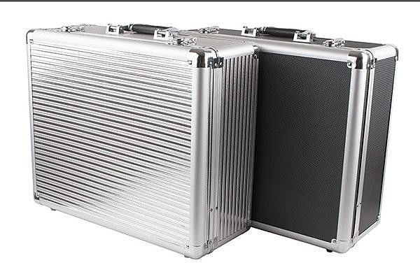 【易發生活館】新品加厚大號工具箱 多功能鋁合金工具箱 儀器箱展示箱手提箱道具箱 道具箱 手提箱收納箱