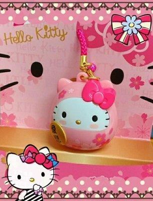 🌸限定7-11 Hello kitty達摩造型悠遊卡/櫻花限定版🔥