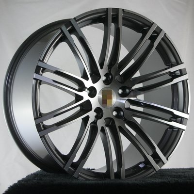 Porsche Cayenne 955 957 958 Macan 970 21吋原廠式樣鋁圈, 搭配米其林輪胎優惠