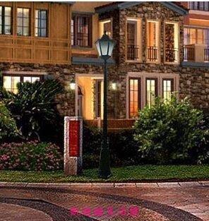 【凱迪豬生活館】歐式戶外燈 鋁制草坪柱頭燈 六角花園LED庭院燈具KTZ-200992