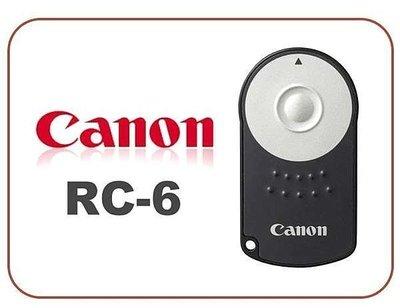 原廠 CANON RC-6 RC6 紅外線 無線遙控器 600D 650D 60D 7D 5D2 5DII 5D3