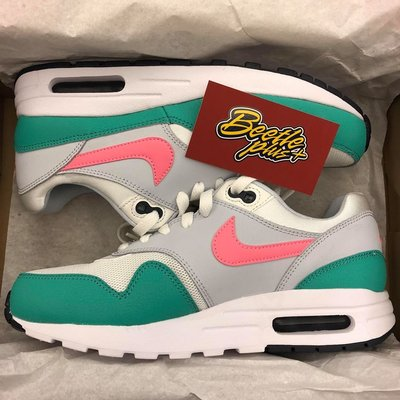女鞋 BEETLE NIKE AIR MAX 1 WATERMELON 南灣 配色 GS 807602-105 24.5