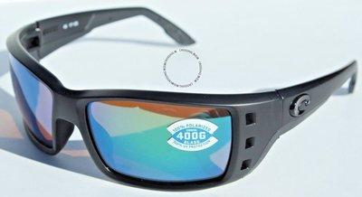 COSTA DEL MAR Permit POLARIZED太陽眼鏡遮光/綠色鏡面400G NEW  199
