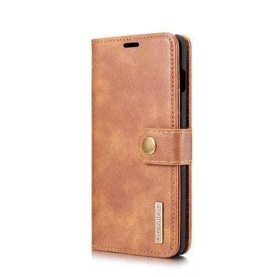 Samsung S10 牛皮仿製真皮 分離二合一 手機殼手機套書本皮套保護套保護殼背蓋後殼 插卡支架N1856