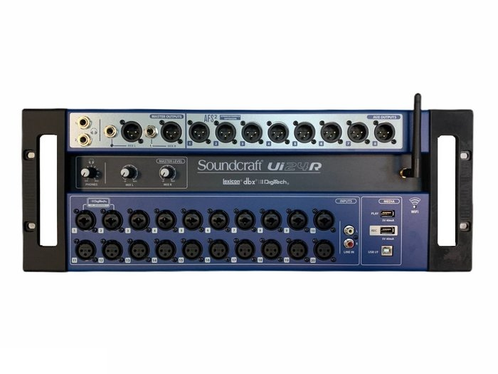 【昌明視聽】Soundcraft Ui24R Mixer 數位混音器 全新品